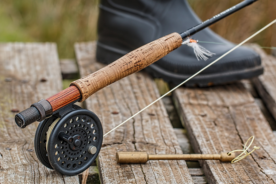 Fly rod and Reel 2 1
